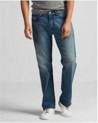 Express - Relaxed Thick Stitch Stretch+ Eco-friendly Jeans, Men's Size:w28 L28 - Lyst