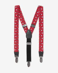 Express - Penguin Print Suspenders - Lyst