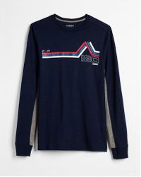 Express - Alpine Summit Long Sleeve Graphic Tee - Lyst