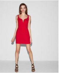 Express - Sweetheart Neckline Dress - Lyst
