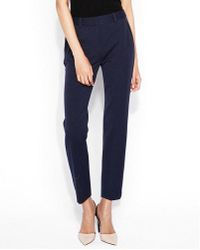 Express - Mid Rise Piped Ankle Columnist Pant - Lyst