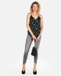 Express - Floral Downtown Cami - Lyst