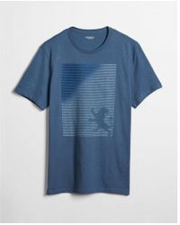 Express - Fadeaway Lion Graphic Tee - Lyst