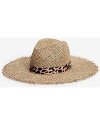 Express - Open Stitch Panama Hat - Lyst