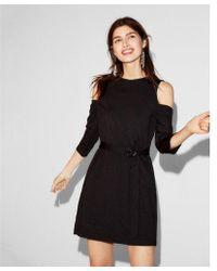 Express - Cold Shoulder Dress - Lyst