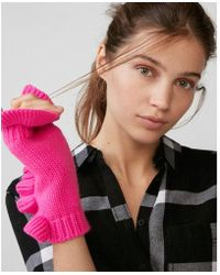 Express - Ruffle Arm Warmer - Lyst