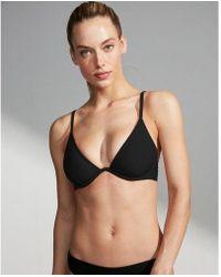 Express - Solid Underwire Bikini Top - Lyst