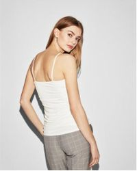 Express - Ruched Cami - Lyst