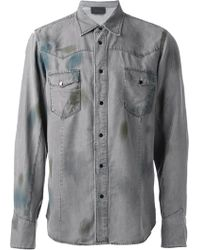 Diesel Black Gold Sawest Shirt - Lyst