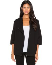 Bella Luxx - Oversized Quilted Jacket - Lyst