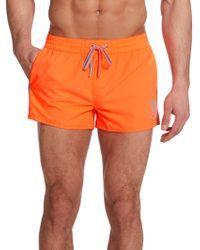 Diesel Coral Rif Swim Shorts orange - Lyst