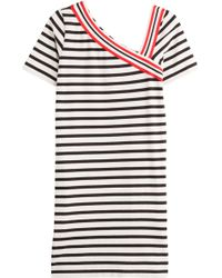 See By Chloé Striped Cotton Dress - Lyst