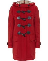 Burberry - Finsdale Straight Fit Duffle Coat - Lyst