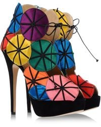 Charlotte Olympia Ankle Boots - Lyst