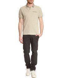 Woolrich Sierra Grey Polo Shirt - Lyst