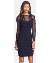 Xscape Embellished Stretch Sheath Dress - Lyst