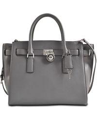 Michael Kors Hamilton Traveler Lg 18k Bag - Lyst