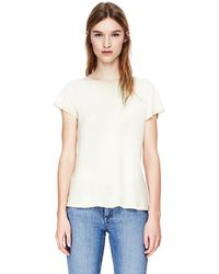 Theory Everday Shirt in Tee Cotton - Lyst