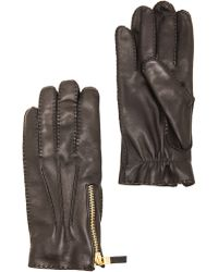 Alexander McQueen - Mens Leather Gloves - Lyst