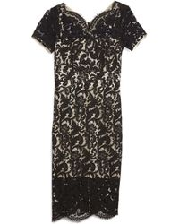 Lover | French Lace Midi Dress | Lyst