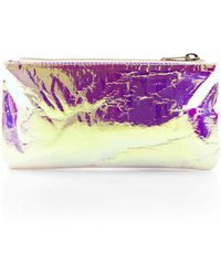 Zilla Glossy Film Purse - Lyst