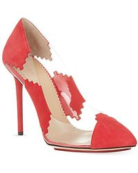 Charlotte Olympia Montana Pointed Toe Court Shoes - For Women - Lyst