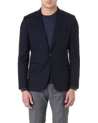 Paul Smith Single-breasted Wool Jacket - Lyst