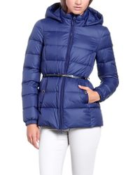Patrizia Pepe Real Down Jacket with Removable Hood - Lyst