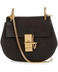 Chloé | Drew Mini Leather Cross-body Bag | Lyst