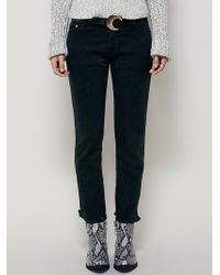 Free People | Nsf Womens Beck Destroyed Boyfriend | Lyst