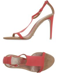 Burberry Prorsum Sandals pink - Lyst