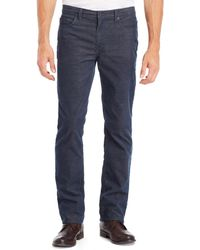 Kenneth Cole Reaction Two-tone Corduroy Pants - Lyst