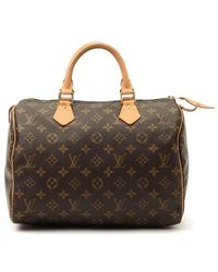 Louis Vuitton Pre-owned Speedy 30 - Lyst