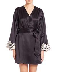 La Perla | Vestaglia Corta Silk Robe | Lyst