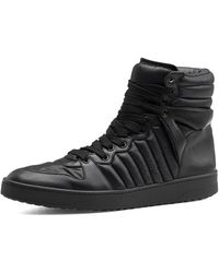 Gucci Hudson Padded Nylon Hightop Sneaker - Lyst