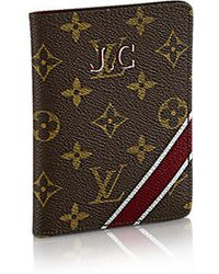 Louis Vuitton Passport Cover Mon Monogram - Lyst