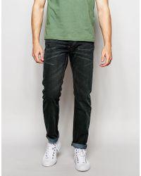 Bellfield - Slim Fit Washed Black Jeans - Lyst