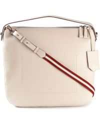 Bally Fiona Medium Leather Shoulder Bag - Lyst