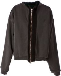 Haider Ackermann Racoon Fur Lined Jacket - Lyst