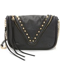 She + Lo - Breakthrough Zip Cross Body Bag - Navy - Lyst