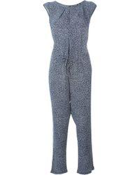 Woolrich - Printed Jumpsuit - Lyst