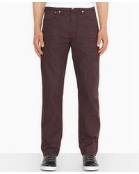 Levi's 501 Original Shrinktofit Crushed Berry Jeans - Lyst