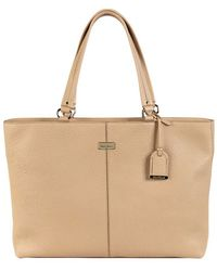 Cole Haan Tech Pebbled Leather Tote Bag - Lyst