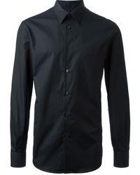 Alexander McQueen Black Classic Shirt - Lyst