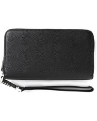 Dior Homme Pebbled Wallet - Lyst