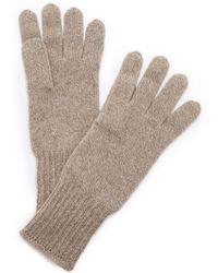Hat Attack - Cashmere Gloves - Black - Lyst