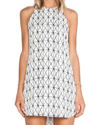 A.L.C. White Isabel Dress - Lyst