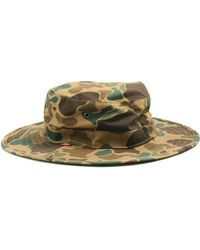 Obey Boonts Hat Camo - Lyst