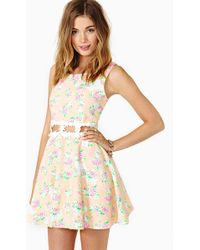 Nasty Gal Reverse Sweet Buds Dress - Lyst