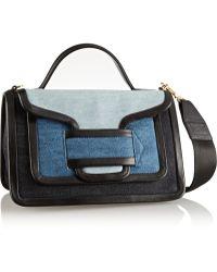 Pierre Hardy Color-block Gabardine Shoulder Bag - Lyst
